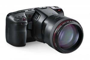 blackmagic pocket camera 6K