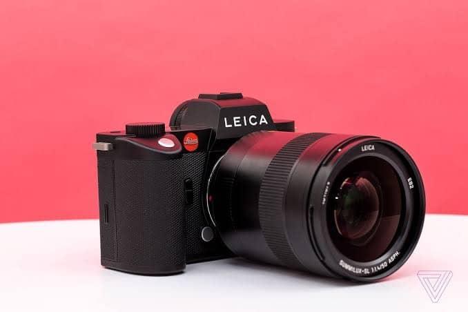 Leica SL2 lens