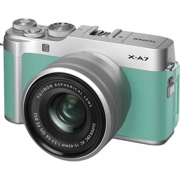 The Fujifilm X-A7 Is a Classic With a Modern Twist