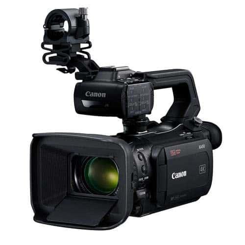 Canon XA50 and XA55 Review