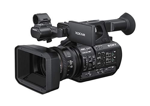The Sony PXW-Z-190 4k 3-CMOS 1/3-Type Sensor XDCAM Camcorder