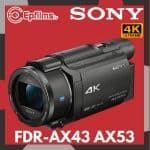 Sony AX53/43 Review
