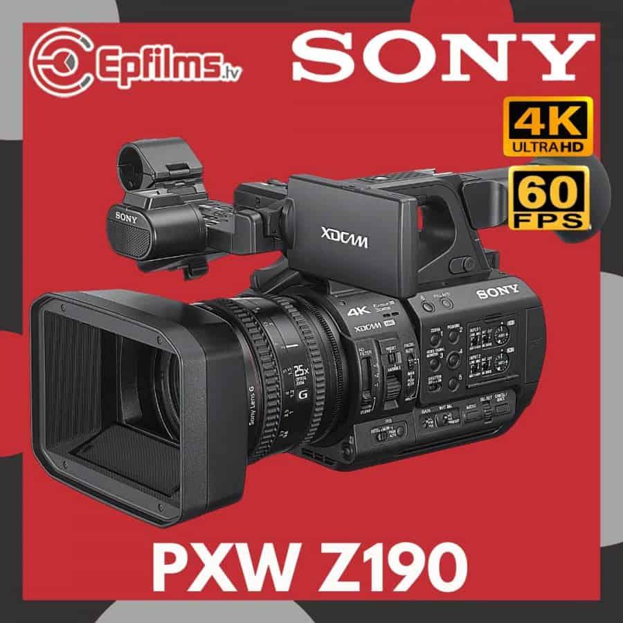 z190-professional-4k-camera
