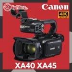 Canon XA40 XA45 Review