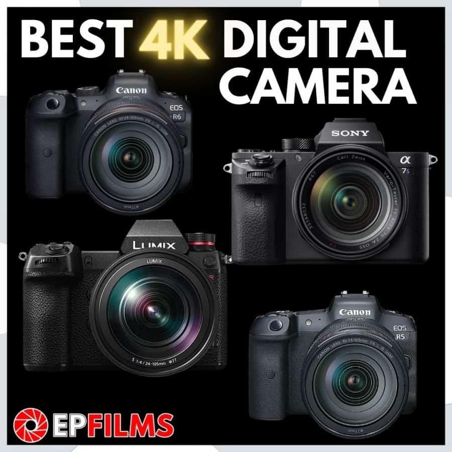 best-4k-camera-mirrorless-digital-dslr